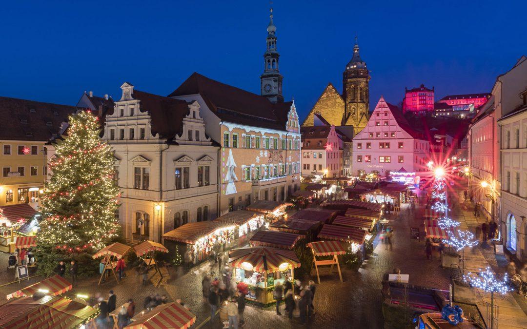 Canaletto Market in Pirna